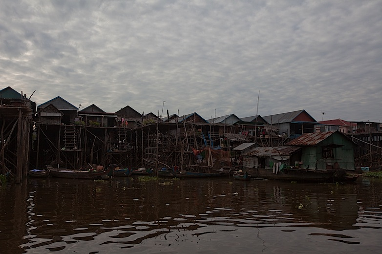 Floating village of Kampong Phluk